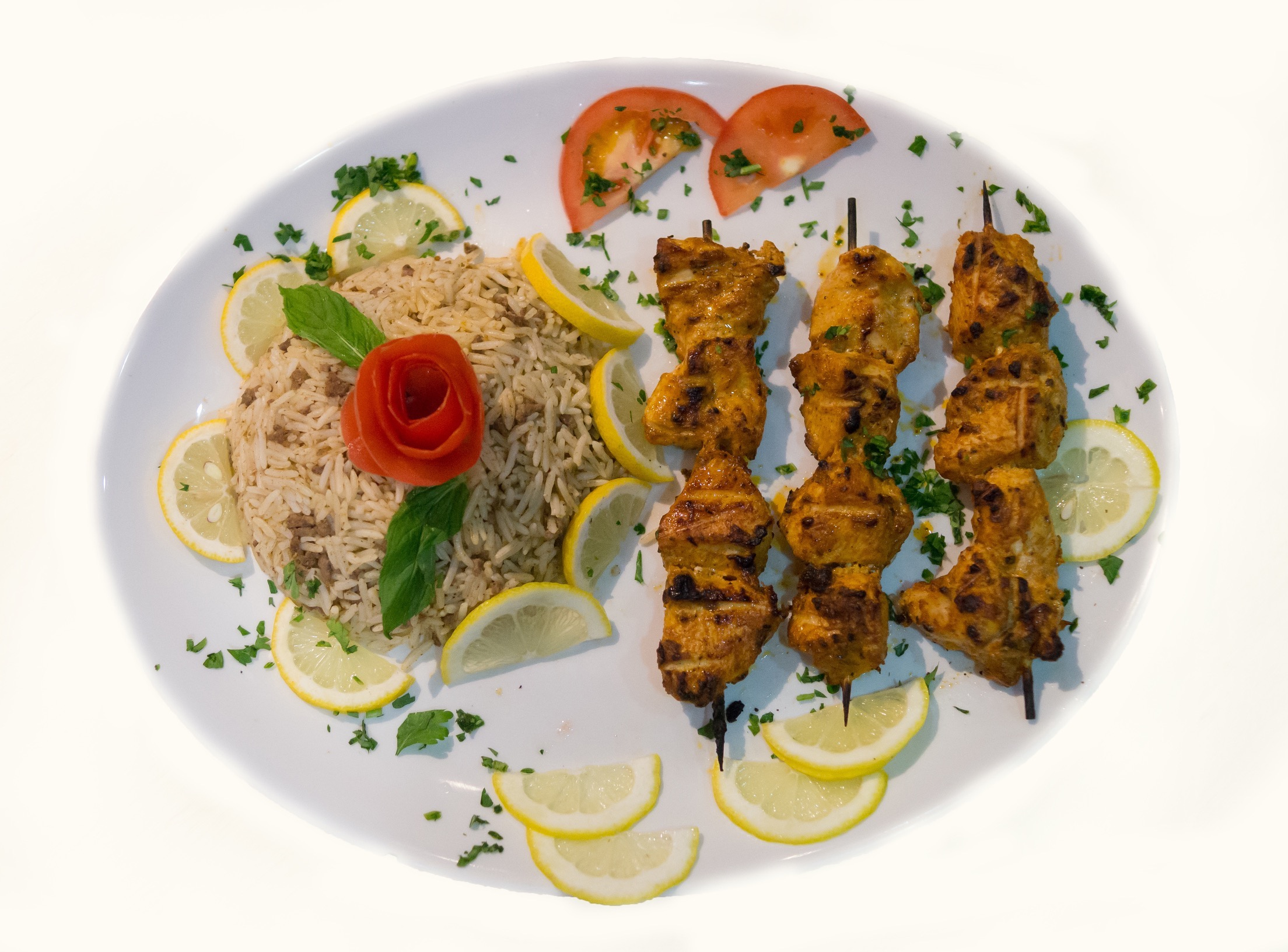 GRILLED CHICKEN ( WITH SPCIAL LEBANSE MARINATED )